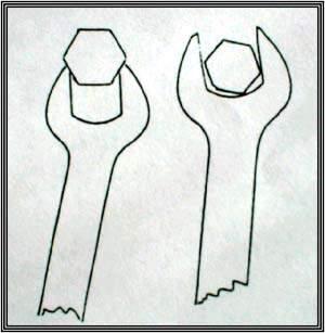 Схематическое изображение art. cubiti. Дисконгруэнтность суставных поверхностей.