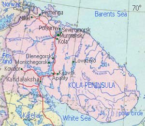 Murmansk region Kola Peninsula Russia BriardRU